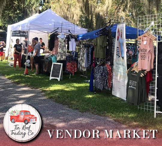 TIn Roof Trading Co Vendor Market